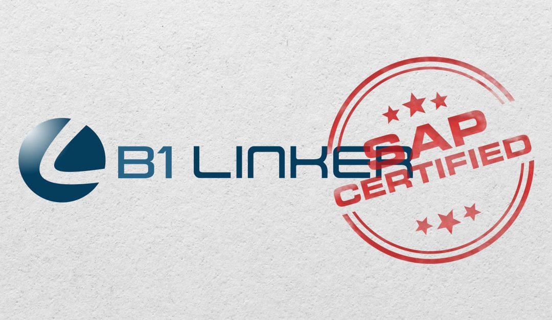 B1 Linker obtém certificação da SAP