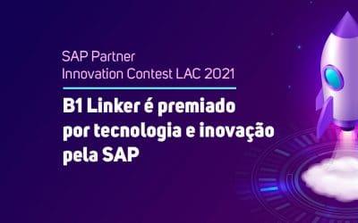 B1 Linker é premiado por tecnologia e inovação pela SAP